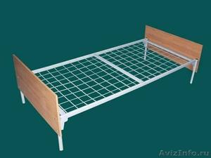 кровати двухъярусные, кровати одноярусные металлические для рабочих и турбаз опт - Изображение #4, Объявление #695558