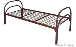 кровати металлические для гостиницы, кровати оптом, кровати для строителей - Изображение #4, Объявление #906012
