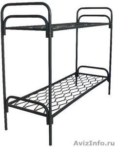 Кровати металлические для бытовок, кровати трёхъярусные для рабочих. дёшево - Изображение #3, Объявление #1478871