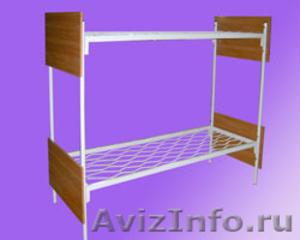 Кровати металлические для бытовок, кровати трёхъярусные для рабочих. дёшево - Изображение #6, Объявление #1478871