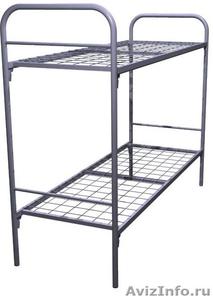 Кровати металлические для бытовок, кровати трёхъярусные для рабочих. - Изображение #1, Объявление #1478872