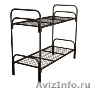 Кровати металлические для казарм, кровати двухъярусные для студентов. оптом - Изображение #4, Объявление #1479819