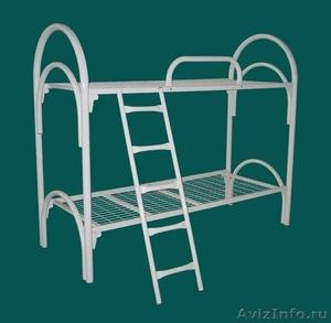 Кровати металлические для казарм, кровати двухъярусные для студентов. оптом - Изображение #5, Объявление #1479819