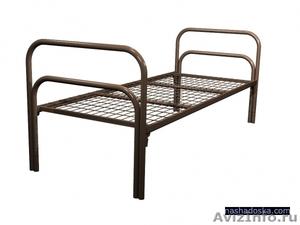 Кровати металлические для казарм, кровати двухъярусные для студентов. оптом - Изображение #3, Объявление #1479819