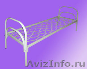 Кровати металлические для бытовок, кровати трёхъярусные для рабочих. - Изображение #3, Объявление #1478872