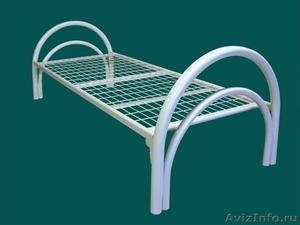 Кровати металлические для казарм, кровати двухъярусные для студентов. оптом - Изображение #1, Объявление #1479819
