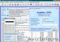 Analitika 2009 - Бесплатное ПО для учета и контроля деятельности компании